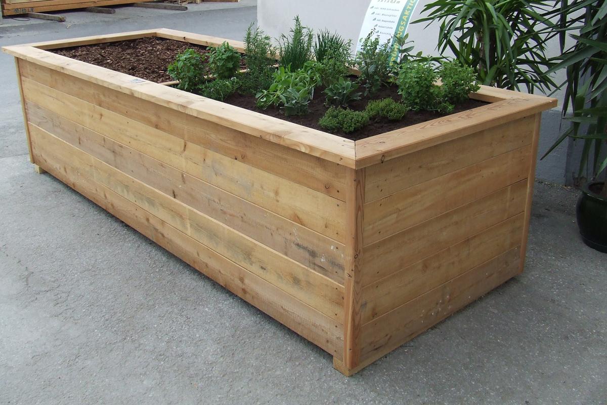Favorit Hochbeete aus Holz in unserem Holzhandel - PICHLER HOLZBAU YL03